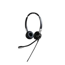 Jabra BIZ 2400 II QD Headset - Stereo - Quick Disconnect - Wired - Over-the-head - Binaural - Supra-aural - Noise Canceling