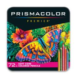 Prismacolor® Premier Soft Core Colored Pencils, Assorted Colors, Pack Of 72