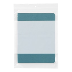 """Office Depot® Brand Reclosable Bags With Write-On Panel, 9"""" x 12"""", Box Of 50"""