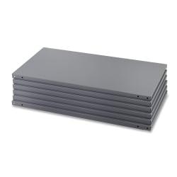 "Safco® Industrial Steel Shelf Pack, 85""H x 36""W x 18""D, 6 Shelves, Gray"