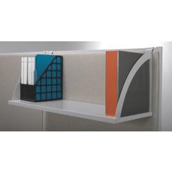 "HON® Verse® Hanging Storage Shelf, 14 1/2""H x 48""W x 14""D, Light Gray"