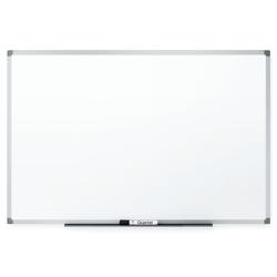 "Quartet® Dry-Erase Board, 24"" x 36"", Silver Aluminum Frame"