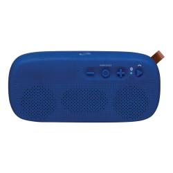 "iLive ISBW249 Bluetooth® Water-Resistant Speaker, 3.8""H x 1.8""W x 8.3""D, Blue, ISBW249BU"