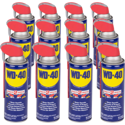 WD-40 Multi-use Product Lubricant - 11.83 fl oz - Corrosion Resistant - 12 / Carton
