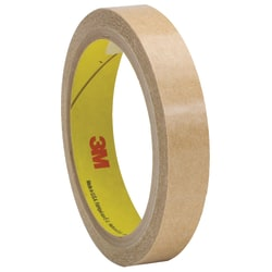 "3M™ 927 Adhesive Transfer Tape Hand Rolls, 3"" Core, 0.5"" x 60 Yd., Clear, Case Of 72"