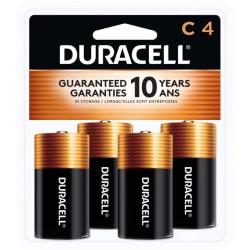 Duracell® Coppertop C Alkaline Batteries, Pack Of 4