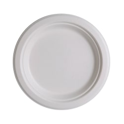 """Eco-Products® Sugarcane Plates, 9"""", Pack Of 50"""