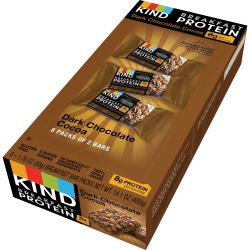 KIND Breakfast Protein Bars, Dark Chocolate Cocoa, 1.76 Oz, Pack Of 8