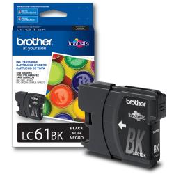 Brother® LC61BK, Black Ink Cartridge
