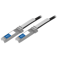 AddOn Cisco SFP-H10GB-CU1M Compatible TAA Compliant 10GBase-CU SFP+ to SFP+ Direct Attach Cable (Passive Twinax, 1m) - 100% compatible and guaranteed to work