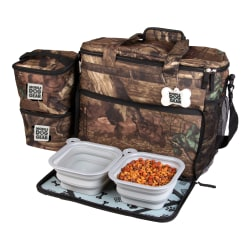 "Overland Dog Gear Week Away Bag For Medium/Large Dogs, 14""H x 7""W x 15""D, Camo"