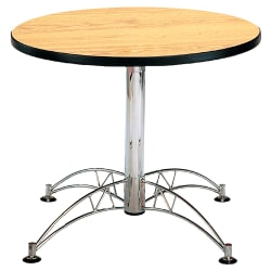 "OFM Multipurpose 36"" Round Table, Oak"
