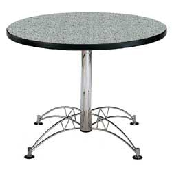 "OFM Multipurpose 42"" Round Table, Gray Nebula"