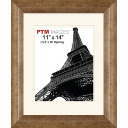 "PTM Images Photo Frame, 1 Opening Portrait, 14 1/2""H x 2""W x 17 1/2""D, Champagne"