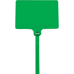 "Office Depot® Brand Identification Cable Ties, 6"", Green, Case Of 100"