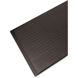 "Guardian Floor Protection Soft Step Anti-Fatigue Floor Mat, 36"" x 24"", Black"