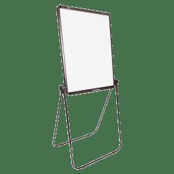 "SKILCRAFT® Dual-Sided Floor/Desktop Presentation Easel, 27"" x 34"" Board, 40"" to 70"" High, Aluminum, Black (AbilityOne 7520-01-642-1223)"