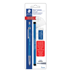 STAEDTLER Mars Carbon 2mm COLOURED Drawing Leads 12 LEAD PACK