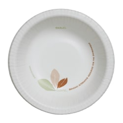 Solo® Bare™ Heavyweight Paper Bowls Perfect Pak™, 12 Oz., Pack Of 500