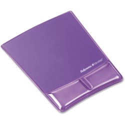 Fellowes Mousepad with Wrist Rest Microban Protection