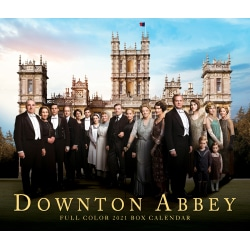 """Willow Creek Press Page-A-Day Daily Desk Calendar, 4-1/4"""" x 5-1/4"""", FSC® Certified, Downton Abbey, January to December 2021, 15131"""