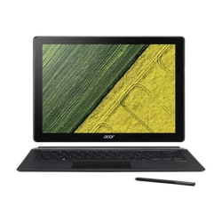 """Acer Switch 7 Black Edition SW713-51GNP SW713-51GNP-879G 13.5"""" Touchscreen 2 in 1 Notebook - 2256 x 1504 - Intel Core i7 (8th Gen) i7-8550U 1.80 GHz - 16 GB RAM - 512 GB SSD - Iron Gray - Windows 10 Pro - NVIDIA GeForce MX150 with 2 GB"""