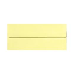 "LUX Envelopes With Peel & Press Closure, #10, 4 1/8"" x 9 1/2"", Lemonade Yellow, Pack Of 1,000"