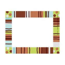 """Barker Creek Self-Adhesive Name Badge Labels, 3 1/2"""" x 2 3/4"""", Ribbon, Pack Of 45"""