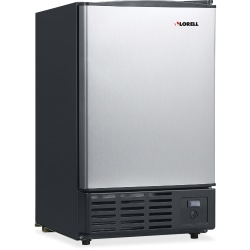 Lorell 19-Liter Stainless Steel Ice Maker. Stainless Steel
