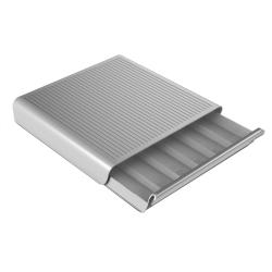 Mind Reader Hero Coffee Capsule Drawer, 36-Pod Capacity, Silver/Gray