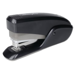 Swingline® Quick Touch™ Half-Strip Stapler, Black/Gray