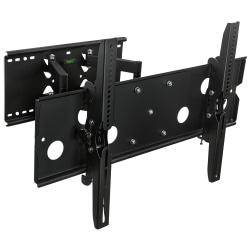 """Mount-It MI-310B Full-Motion Heavy-Duty TV Wall Mount For Screens 32 - 60"""", 37-1/2""""H x 10-1/2""""W x 4-1/2""""D, Black"""