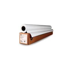 """HP HDPE Reinforced Banner, 54"""" x 150', White"""