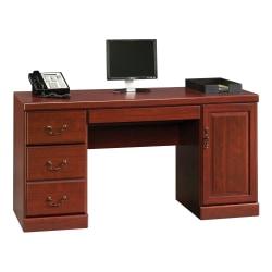 "Sauder® Heritage Hill 60""W Computer Credenza, Classic Cherry"