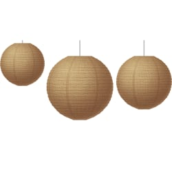 Teacher Created Resources Paper Lanterns, Burlap, Pack Of 3