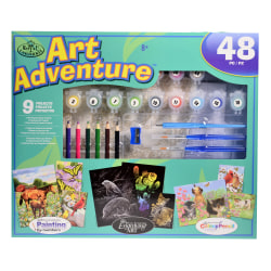 Royal & Langnickel Art Adventure Super Value Set, Blue 105 Set