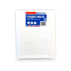 USPS Bubble Mailer, Size #0, White