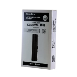 Battery-Biz Lithium-Ion Replacement Laptop Battery, For Select Lenovo®/IBM ThinkPad® Laptop Computers, 10.8 Volts, 5200 mAh, B-LBLN23