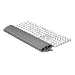 "Fellowes® I-Spire Series Keyboard Wrist Rocker, 1.12"" x 18.25"" x 2.56"", Gray"