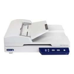Xerox Duplex Combo Scanner - Flatbed scanner - Contact Image Sensor (CIS) - Duplex - 8.5 in x 118 in - 600 dpi - ADF (35 sheets) - up to 1500 scans per day - USB 2.0
