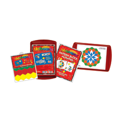 Barker Creek® Magnets, Learning Magnets®, Pattern Block Activity Kit, Grades Pre-K+, Pack Of 110