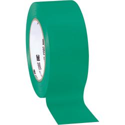 """3M™ 3903 Tartan™ Duct Tape, 3"""" Core, 2"""" x 50 Yd., Green, Case Of 3"""