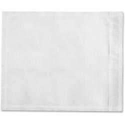 "Sparco Plain Back 7"" Envelopes - Packing List - 7"" Width x 5 1/2"" Length - 70 g/m² - Self-adhesive Seal - Paper, Low Density Polyethylene (LDPE) - 1000 / Box - White"