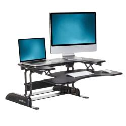 """VariDesk ProPlus Manual Standing Desk Converter, 36""""W, Black"""