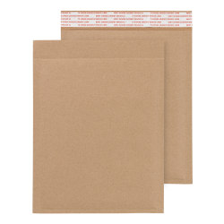 """Office Depot® Brand Heavy-Duty Bubble Mailer, CD/DVD, 7"""" x 9 1/2"""", 100% Recycled, Pack Of 12"""