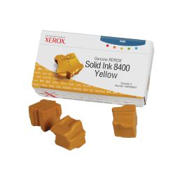 Xerox® 108R00607 Yellow Solid Ink Sticks, Pack Of 3