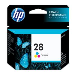 HP 28, Tricolor Original Ink Cartridge (C8728AN)