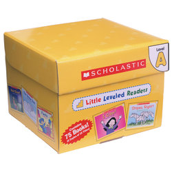 Scholastic® Little Leveled Readers Book: Level A Box Set, Grades K-2, Pack Of 75 Books