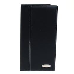 "Samsonite® Vinyl Business Card Case, Holds 144, 13 1/2"" x 11 1/2"" x 2"", Black"