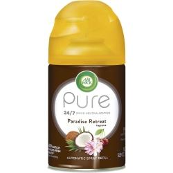 Air Wick Freshmatic Life Scents Refill - Spray - 6.2 fl oz (0.2 quart) - Paradise Retreat, Coconut, Sweet Almond Blossom - 60 Day - 6 / Carton - Wall Mountable, Long Lasting